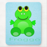 Cute Froggo Frog Mouse Pads