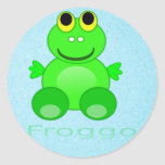Cute Froggo Frog Sticker