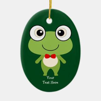 Cute Froggy Ceramic Ornament