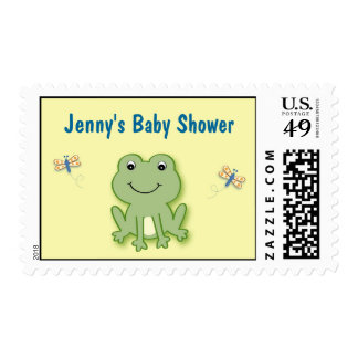Cute Froggy Frog Postage Stamp