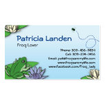 Cute Frogs Profile Cards Business Card Template