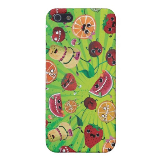 Cute Fruit Madness iPhone 5 Cover
