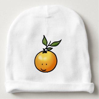 cute fruit orange cartoon baby beanie