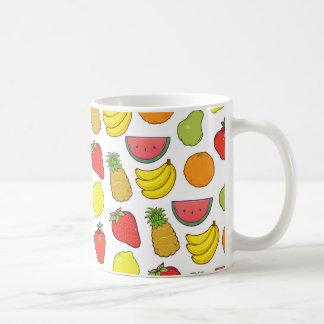 Cute Fruit Pattern Coffee Mug