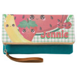 Cute Fruit Personalized Clutch