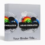 Cute Fruity Arab Emirates Binder