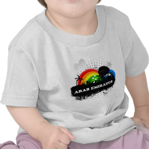 Cute Fruity Arab Emirates T-shirts