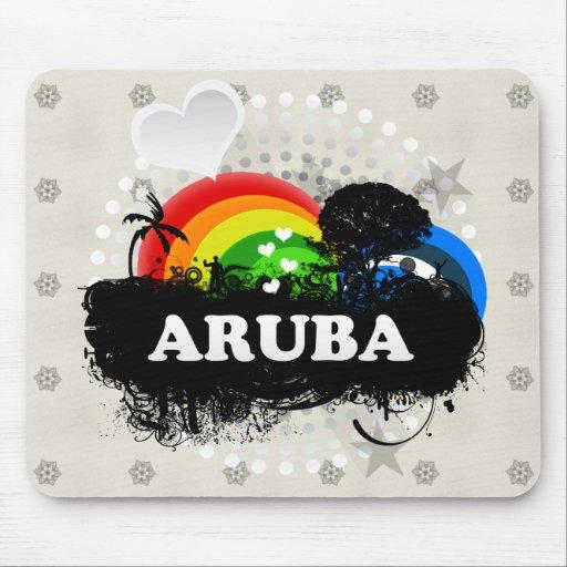 Cute Fruity Aruba Mousepad