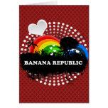 Cute Fruity Banana Republic Card