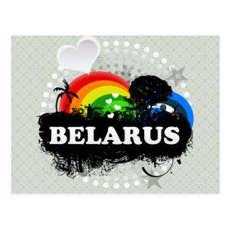 Cute Fruity Belarus Postcard