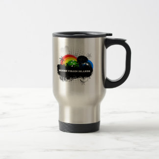 Cute Fruity British Virgin Islands 15 Oz Stainless Steel Travel Mug