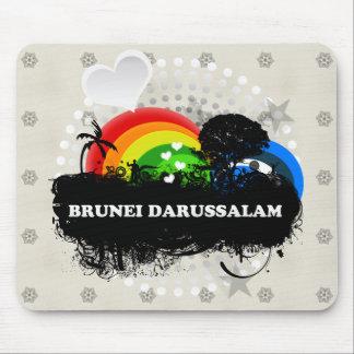 Cute Fruity Brunei Darussalam Mouse Pad