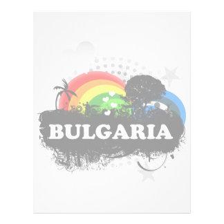Cute Fruity Bulgaria Personalized Letterhead