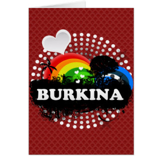 Cute Fruity Burkina Cards