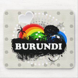 Cute Fruity Burundi Mouse Pad