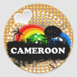 Cute Fruity Cameroon Stickers