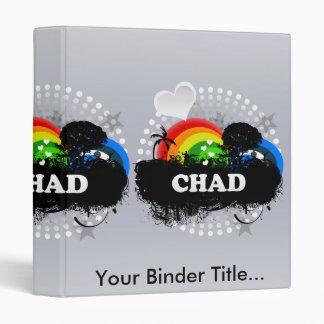Cute Fruity Chad 3 Ring Binders