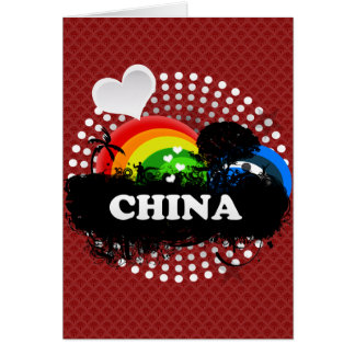 Cute Fruity China Greeting Cards
