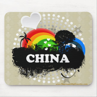 Cute Fruity China Mouse Pad