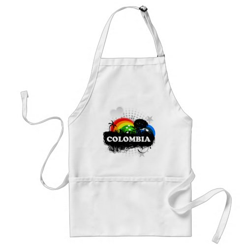 Cute Fruity Colombia Aprons