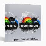 Cute Fruity Dominica Vinyl Binder