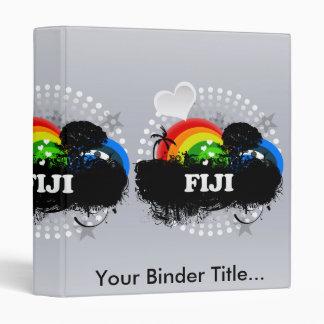 Cute Fruity Fiji Vinyl Binder