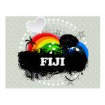 Cute Fruity Fiji Postcard