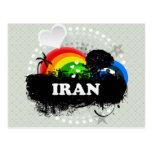 Cute Fruity Iran Post Cards