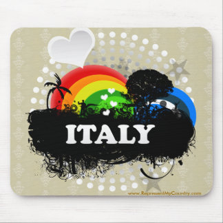 Cute Fruity Italy Mouse Pad