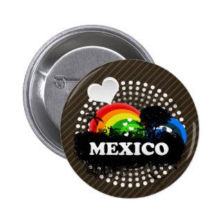 Cute Fruity Mexico Button