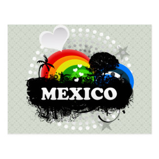 Cute Fruity Mexico Post Cards