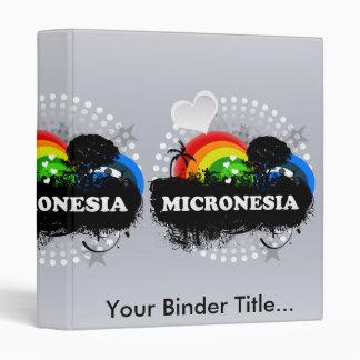Cute Fruity Micronesia 3 Ring Binders