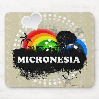 Cute Fruity Micronesia Mouse Pad