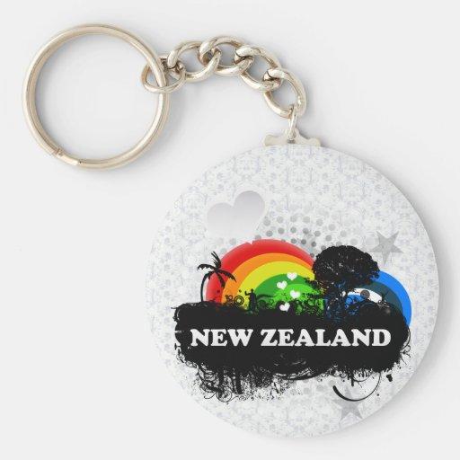 Cute Fruity New Zealand Keychains