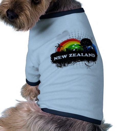 Cute Fruity New Zealand Pet Shirt
