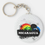 Cute Fruity Nicaragua Keychain