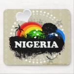 Cute Fruity Nigeria Mouse Pad