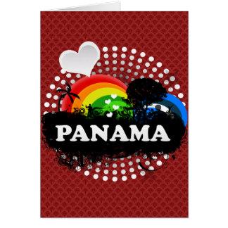 Cute Fruity Panama Card