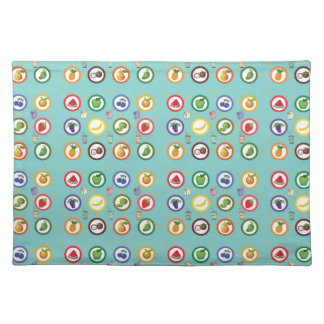 Cute Fruity Pattern Placemat