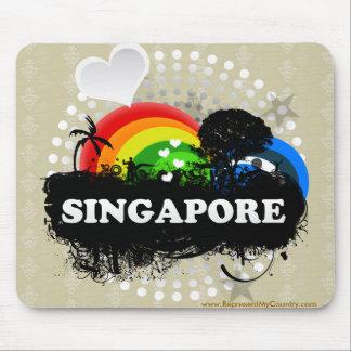 Cute Fruity Singapore Mouse Pad