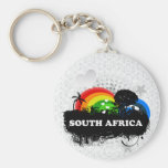 Cute Fruity South Africa Basic Round Button Keychain