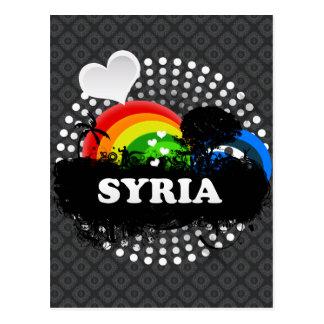 Cute Fruity Syria Postcards