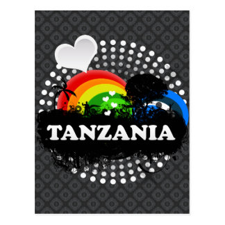 Cute Fruity Tanzania Postcard