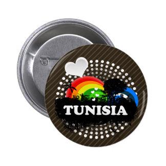 Cute Fruity Tunisia Buttons