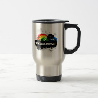 Cute Fruity Uzbekistan Coffee Mug