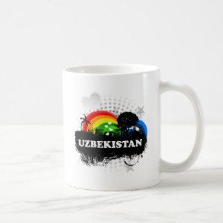 Cute Fruity Uzbekistan Mugs