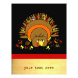 Cute Full Color Turkey Personalized Flyer