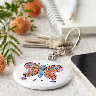 Cute Fun Butterfly Key Chain