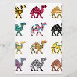 """Cute fun camels<br><div class=""""desc"""">colourful cute and fun camel pattern</div>"""