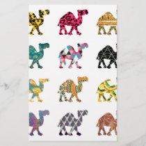 Cute fun camels